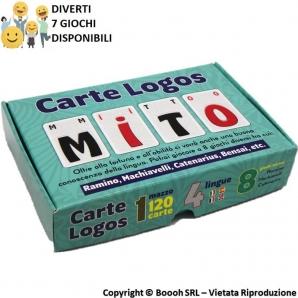 CARTE DA GIOCO LOGOS - CONFEZIONE ORIGINALE CON DOPPIO MAZZO 10,99€