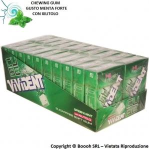 VIVIDENT ICE CUBE GREEN MINT CHEWING GUM - CONFEZIONE DA 20 ASTUCCI 33,32€