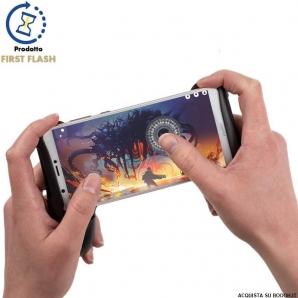 PORTACELLULARE A FORMA DI CONTROLLER JOYSTICK SIMULATORE PER VIDEOGIOCHI GAMEPLAY CONSOLE - IDEA REGALO GAMER 13,99€