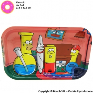 VASSOIO PER ROLLARE SIMPBONGS - PROFESSIONAL MEDIUM ROLLING TRAY by SMOKE ARSENAL | IDEA REGALO FUMATORE 14,99 €