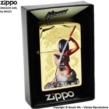 ZIPPO ORIENTAL LADY by MAZZI COD.29668 - ACCENDINO A BENZINA E ANTIVENTO | IDEA REGALO FUMATORE