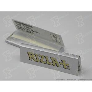 RIZLA CARTINE ARGENTO SINGOLE CORTE SILVER - 1 LIBRETTO DA 50 CARTINE 0,29€