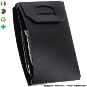 PORTA MASCHERINA TASCABILE E IGIENIZZABILE 4MASK by ITALFELTRI - COLORE NERO IN POLIPROPILENE | MADE IN ITALY 2,99€