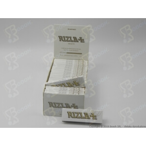 RIZLA CARTINE SINGOLE BIANCHE CORTE WHITE - 1 LIBRETTO DA 50 CARTINE 0,34€