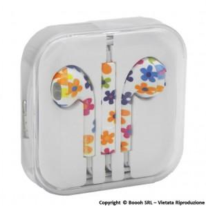 AURICOLARI AUDIO FIORI - CUFFIE CON CAVO + MICROFONO E REGOLATORE VOLUME PER TELEFONATE, MUSICA E AUDIO LIBRI 12,49€