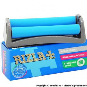 MACCHINETTA ROLLATORE IN PLASTICA RIGIDA DELLA RIZLA REGULAR - UTILE PER ROLLARE CARTINE CORTE 3,74€