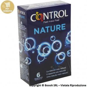 PROFILATTICI CONTROL NATURE - ASTUCCIO DA N.6 PRESERVATIVI CLASSICI SENZA AROMA 7,07€