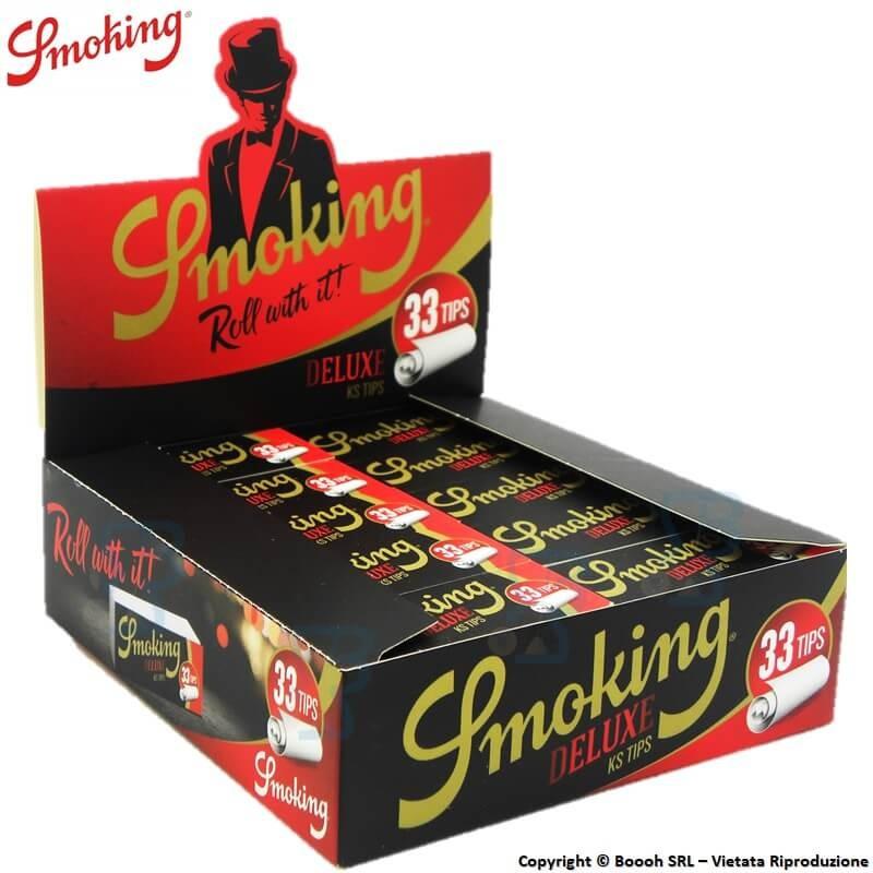 SMOKING FILTRI IN CARTA - BOX DA 50 BLOCCHETTI DA 33 FILTRINI IN CARTONCINO 30,37€