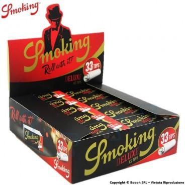 SMOKING FILTRI IN CARTA - BOX DA 50 BLOCCHETTI DA 33 FILTRINI IN CARTONCINO