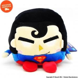 SUPERMAN PELUCHE KAWAI CUBE ORIGINALE - MORBIDO GIOCATTOLO PUPAZZO ALTO 11 CM DC COMICS | IDEA REGALO BAMBINI 11,99€
