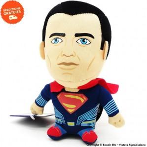 SUPERMAN PELUCHE ORIGINALE KAWAI CUBES - MORBIDO GIOCATTOLO PUPAZZO ALTO 17 CM DC COMICS | IDEA REGALO BAMBINI 11,99€