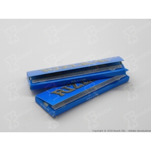 RIZLA CARTINA BLU CORTA SINGOLA REGULAR - 1 LIBRETTO DA 50 CARTINE 0,26 €