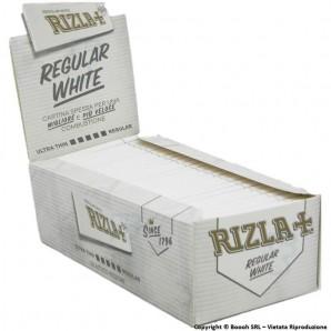 RIZLA CARTINE SINGOLE BIANCHE CORTE WHITE - CONFEZIONE DA 50 LIBRETTI DA 50 CARTINE 36,14€