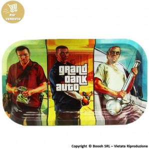 VASSOIO PER ROLLARE GRAND DANK AUTO - PROFESSIONAL MEDIUM ROLLING TRAY by V-SYNDICATE | IDEA REGALO FUMATORE 14,36 €
