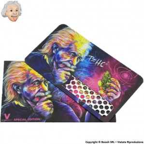 GRINDER CARD EINSTEIN - TRITATABACCO FORMATO TESSERA METALLICA ULTRASOTTILE 4,99€