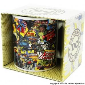 DC COMICS ORIGINALS : TAZZA IN CERAMICA CON MANICO - CAPIENZA 325 ml | IDEA REGALO FUN DEI FUMETTI E SUPEREROI 9,99€