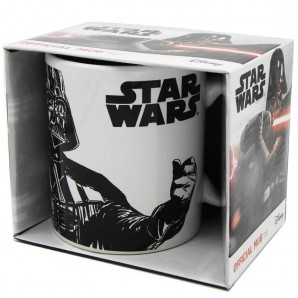 STAR WARS : TAZZA IN CERAMICA CON MANICO ORIGINALE CON DART FENER - CAPIENZA 325 ml | IDEA REGALO FUN DEI FUMETTI E SUPEREROI...