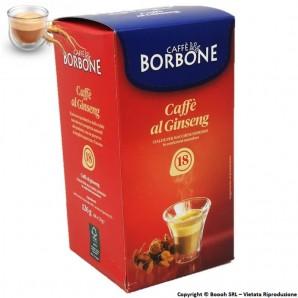 CAFFE' BORBONE BEVANDA AL GINSENG ENERGIZZATE - CONFEZIONE DA 18 CIALDE COMPOSTABILI ECOSOSTENIBILI 7,99€