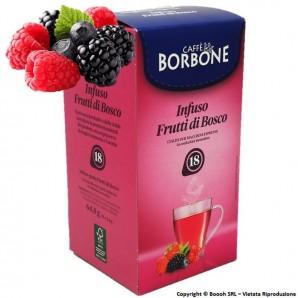 CAFFE' BORBONE INFUSO AI FRUTTI DI BOSCO - CONFEZIONE DA 18 CIALDE COMPOSTABILI ECOSOSTENIBILI 4,89€