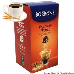 CAFFE' BORBONE BEVANDA GUSTO ESPRESSO D'ORZO - CONFEZIONE DA 18 CIALDE COMPOSTABILI ECOSOSTENIBILI 4,89€