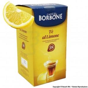 CAFFE' BORBONE THE AL LIMONE - CONFEZIONE DA 18 CIALDE COMPOSTABILI ECOSOSTENIBILI 4,89€