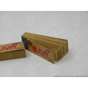 RAW FILTRI IN CARTA DI CANAPA E COTONE - 1 BLOCCHETTO DA 50 FILTRI 0,29€