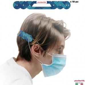 FASCETTE SALVA ORECCHIE - PLURIBOL TENDI MASCHERINA COLOR BLUE | PRODOTTO 100% ITALIANO 5,99€