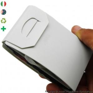 PACK DA 5 PORTA MASCHERINA TASCABILI E IGIENIZZABILI 4MASK by ITALFELTRI - COLORE GRIGIO | MADE IN ITALY 14,95€