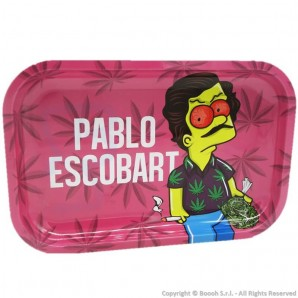 VASSOIO PER ROLLARE PABLO ESCOBART - PROFESSIONAL MEDIUM ROLLING TRAY by V-SYNDICATE | IDEA REGALO FUMATORE 14,36 €