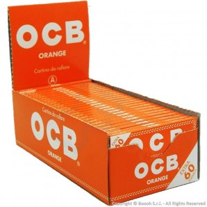 CARTINE OCB ORANGE CORTE SINGOLE ARANCIONI - BOX DA 50 LIBRETTI 30,36 €
