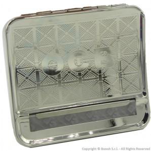 OCB ROLLATORE PER CARTINE CORTE - MACCHINETTA BOX ROLLING TABACCHIERA IN METALLO   TAPPETO SILICONE REGOLABILE 6mm e 8mm 6,29€