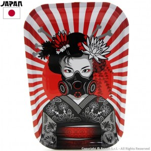 VASSOIO PER ROLLARE DIABOLIK JAPAN GEISHA WITH ATOMIC MASK - PROFESSIONAL MEDIUM ROLLING TRAY | IDEA REGALO FUMATORE 12,81 €