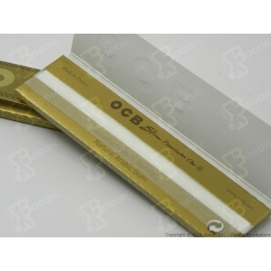 CARTINE OCB PREMIUM ORO KING SIZE LUNGHE SLIM - LIBRETTO 0,65 €