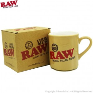 RAW TAZZA IN CERAMICA - PRODOTTO ORIGINALE RAW | COFFEE MUG BY RAW NATURAL ROLLING PAPERS 11,59 €
