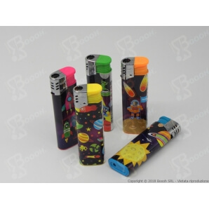 ATOMIC ACCENDINI FIAMMA TURBO ANTIVENTO ''SPACE'' - 1 BOX DA 50 ACCENDINI 26,90 €