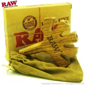 RAW WOODEN LEVEL FIVE : FILTRO E SUPPORTO IN LEGNO - CIGARETTE HOLDER | IDEA REGALO 22,09 €