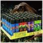ACCENDINI CLIPPER COOL T-REX | BOX DA 48 PEZZI LARGE E RICARICABILI - LIMITED EDITION 39,99€