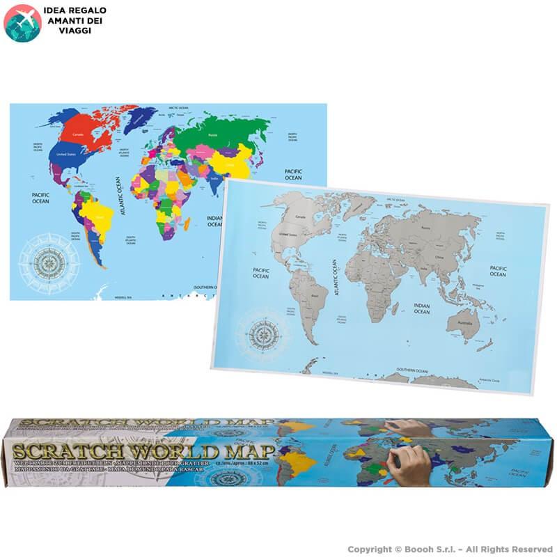 Cartina Mondo Gratta.Fiyns78adudoym