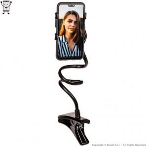 CLIP PORTA SMARTPHONE - ASTA FLESSIBILE E REGOLABILE LUNGA BEN 60cm | IDEA REGALO HI TECH 14,27€