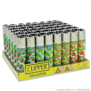 ACCENDINI CLIPPER LARGE FRUITS SPRING MIX - BOX DA 48 PEZZI RICARICABILI 39,99€