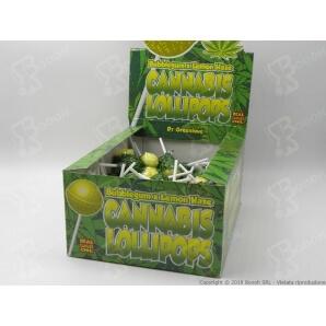 LECCA LECCA LOLLIPOPS GUSTO LIMONATA CON AROMA CANNABIS (NO THC) - 5 LOLLIPOPS 3,24€