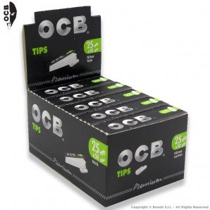 OCB EASY FILTRI IN CARTA PERFORATA - BOX DA 25 BLOCCHETTI DA 50 FILTRINI IN CARTONCINO 14,16€