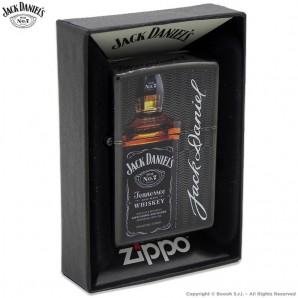 ZIPPO JACK DANIEL'S PREMIUM DESIGN COD.49321 - ACCENDINO A BENZINA E ANTIVENTO | IDEA REGALO FUMATORE 57,13€