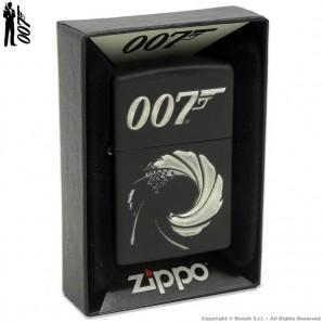 ZIPPO JAMES BOND 007 EDITION COD.49329 - ACCENDINO A BENZINA E ANTIVENTO | IDEA REGALO FUMATORE 65,70€