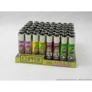 CLIPPER LARGE I AM SCIMMIETTA - BOX DA 48 ACCENDINI 28,99€