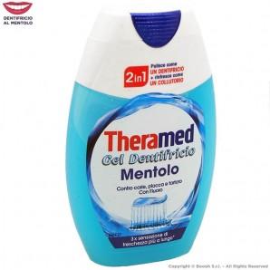 THERAMED GEL DENTIFRICIO MENTOLO RINFRESCA COME UN COLLUTTORIO - TUBETTO DA 75 ML 2,68€