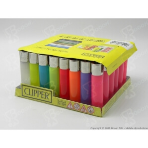 CLIPPER LARGE SOFT TRASLUCIDO - BOX DA 48 ACCENDINI 28,99 €