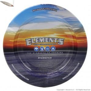 ORIGINAL ELEMENTS ASHTRAY : POSACENERE ROTONDO IN METALLO DA TAVOLO FANTASIA 3,99€