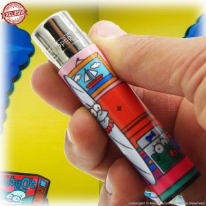 ACCENDINO CLIPPER MARGENJOY IN THE STONED SIMPBONG FAMILY EXCLUSIVE&LIMITED EDITION - SINGOLO PEZZO 5,54€