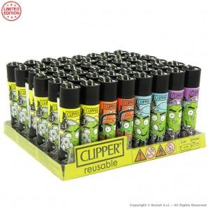 ACCENDINI CLIPPER RAPPER CANNABIS HEMP PREMIUM LIMITED EDITION - BOX 48 PEZZI RICARICABILI LIMITED EDITION 45,99€